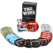 The Wire Complete Box Set With Twenty Four Discs