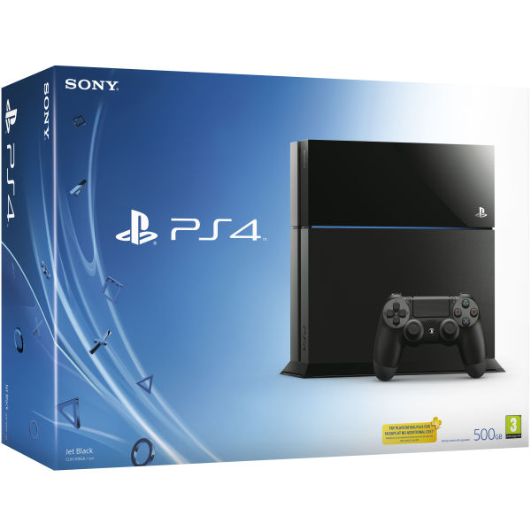 PS4: New Sony PlayStation 4 Console Bundle Including 4 Games